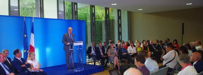 Conférence de presse de rentrée à Bordeaux Métropole (Paysud)