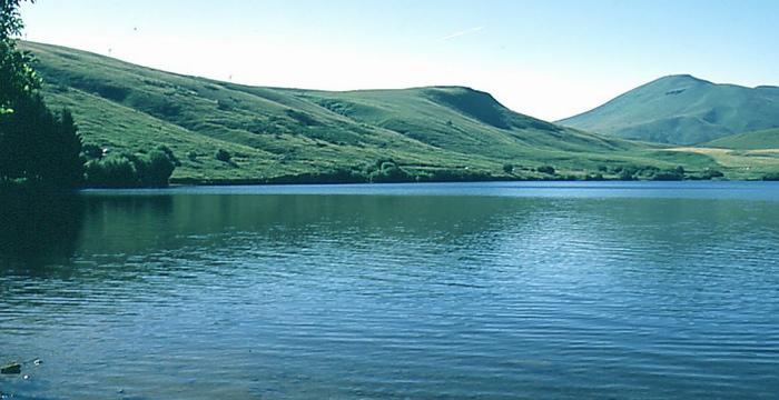 Le lac de la Gimone (ph Agence de l'Eau Adour Garonne)