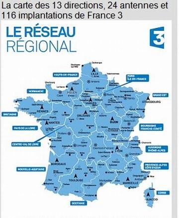France 3 se met en conformité avec les grandes régions