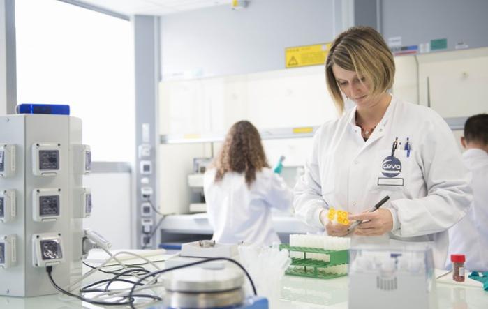 Un laboratoire de CEVA (DR)