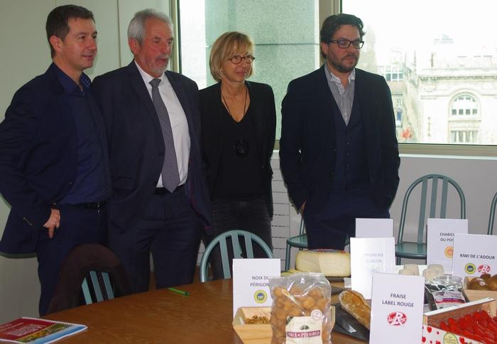 MM Rabaud,Raynaud,Mme Palcewski,M.Jenot (ph Paysud)