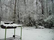 Neige près de Bordeaux (ph Paysud)