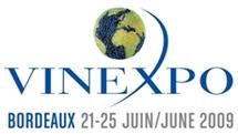 Le Vinexpo 2009 au grand complet  à Bordeaux malgré la crise