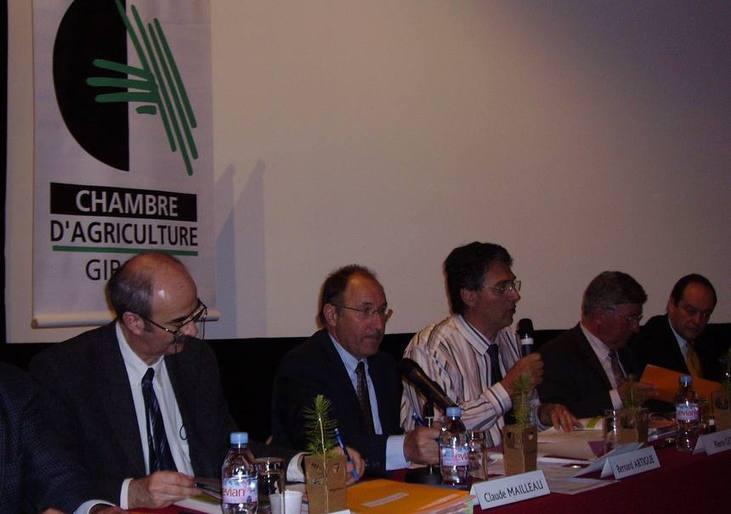 Mauvais temps pour l'agriculture et la sylviculture en Aquitaine