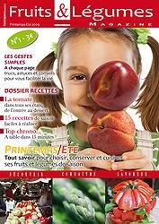 Fruits et Légumes Magazine  en kiosque fin mai:     les stars du végétal en scène