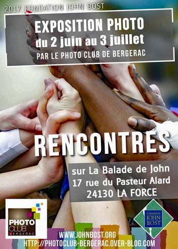 Le photo-club de Bergerac illustre la rencontre à la fondation J. BOST