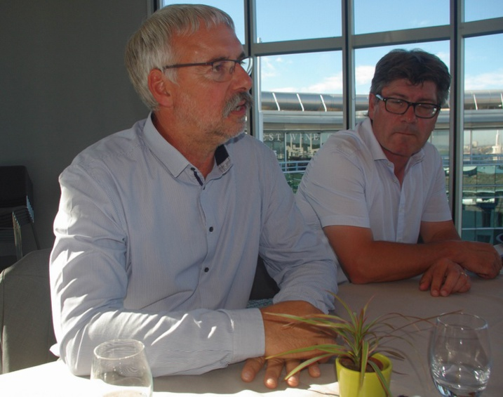 Boris Calmette et Stephane Héraud (ph Paysud)
