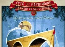 Patrimoine:Bergerac  sur le pont le 19 septembre