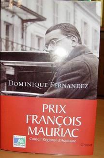 Le prix  François Mauriac  remis à Dominique Fernandez:                               Ramon ou le poids du père