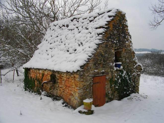 Maison de Jacquou enneigée (ph Paysud-IG)
