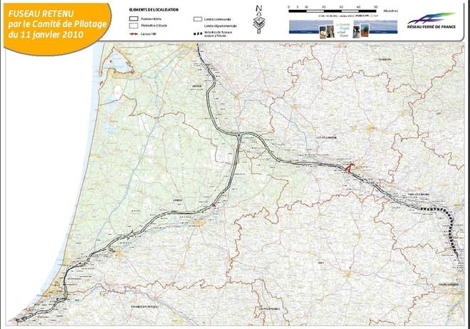 La LGV  Sud-Europe-Atlantique  : sur les rails à petite vitesse