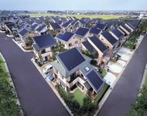 Habitations photovoltaïques au Japon (Ph. Photovoltaïque.info)