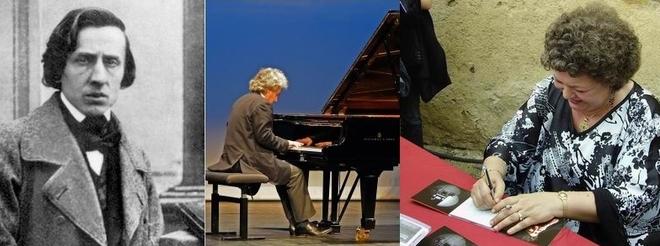 Yves Henry et Brigitte Engerer participent au Bon Anniversaire Monsieur Chopin