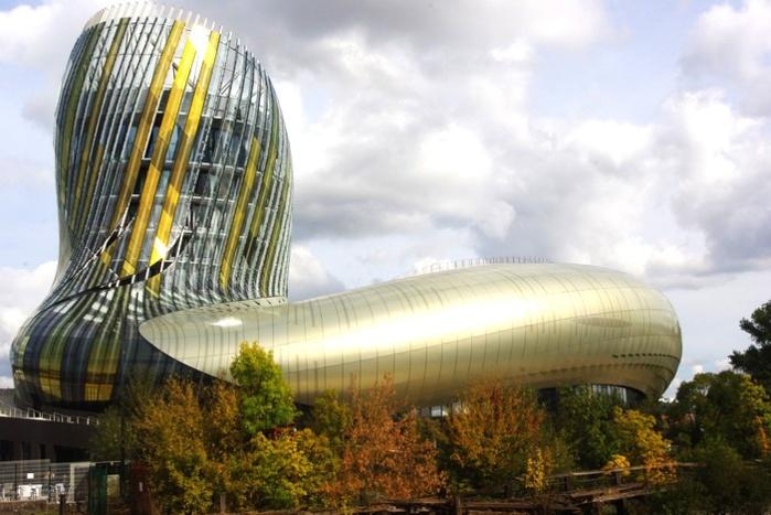 La cité du vin à Bordeaux (ph Paysud)