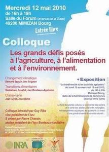 L'INRA  Bordeaux-Aquitaine et Mimizan partenaires