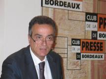 André Berdou au Club de la presse de Bordeaux