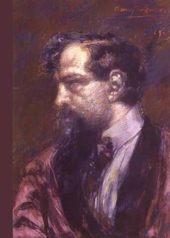 Henry de Groux Portrait de Claude Debussy. Pastel, 1909. Saint-Germain-en-Laye, maison natale Claude-Debussy Cl. L. Sully-Jaulmes
