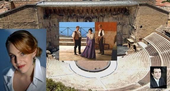 Nathalie Manfrino sera Mireille à Orange  avec  Alain Altinoglu et  l'ONBA