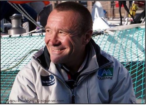 La région Aquitaine partenaire du skipper Lalou Roucayrol