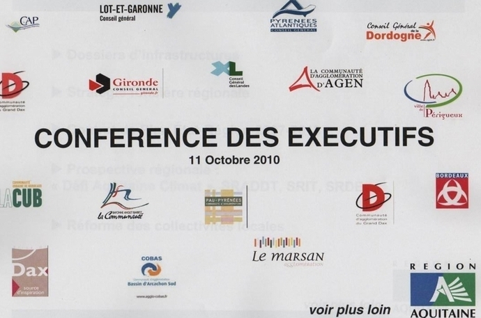Consensus en Aquitaine autour des grands dossiers
