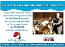 Beau succès pour le lait de commerce équitable d'Onetik