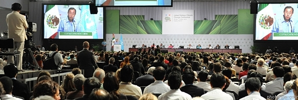 Conférence de Cancun sur le changement climatique: l'appel de Coordination  Sud