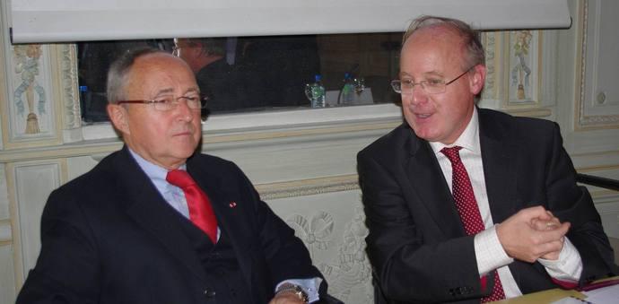 Dominique Schmitt, préfet de Région, et Georges Haushalter (Ph Paysud)
