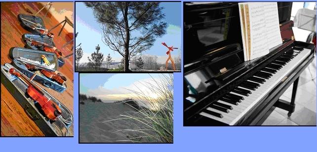 Musique vagabonde avec l'Académie de Hourtin Médoc