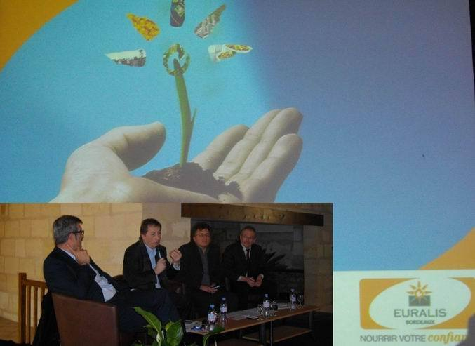 La présentation du contrat de progrès aux viticulteurs girondins (Ph. Paysud)