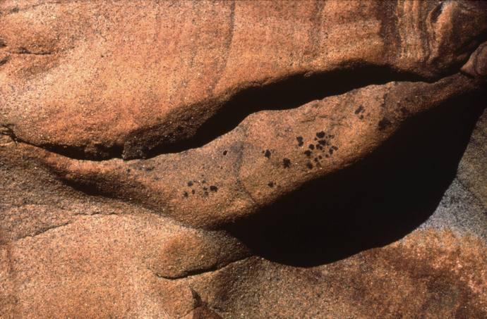 Bouche d'ombre Point Lobos (ph Lucien Clergue)