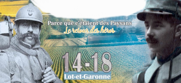 Centenaire de 1918: hommage aux paysans soldats en Lot-et-Garonne