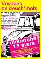 Bordeaux: le printemps des poètes en Deuch