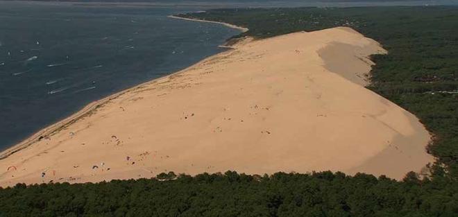 Le littoral aquitain en images sur France3 Aquitaine