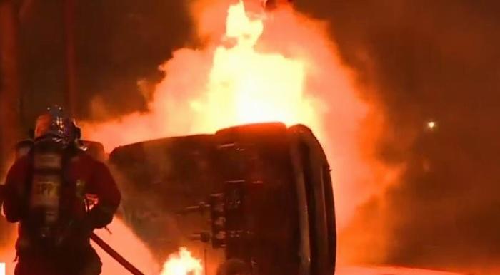 Capture d'écran Cnews
