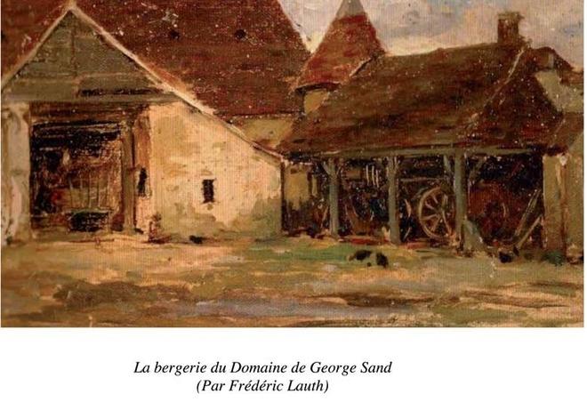 Frédéric Lauth, peintre, fut l'époux d'Aurore Sand