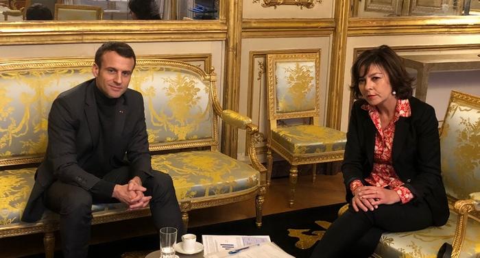 Rencontre à l'Elysée (ph région Occitanie-DR)