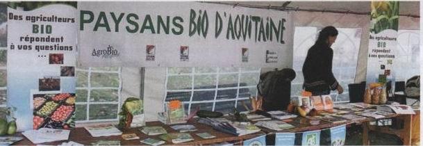 """Bio d'Aquitaine:""""le paysan ne doit pas être le variable d'ajustement"""""""