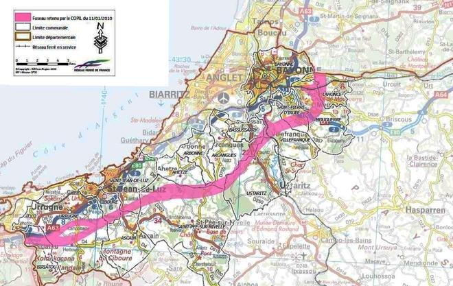 Le projet de tracé fait débat au Pays Basque