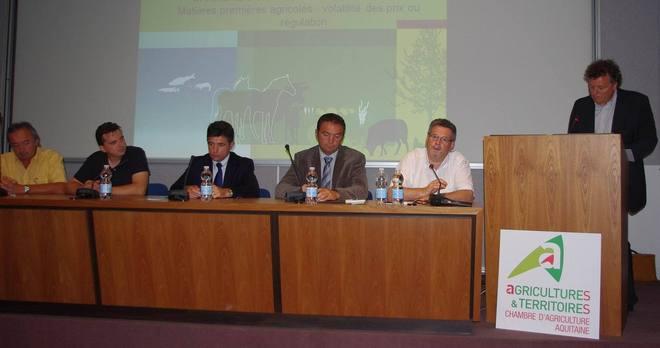 Le débat se déroulait à l'INRA Aquitaine (Ph Paysud)