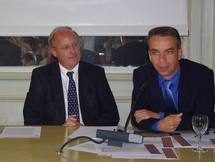 G.Haushalter,président; F.Jumeau, direct.marketing (Ph Paysud)