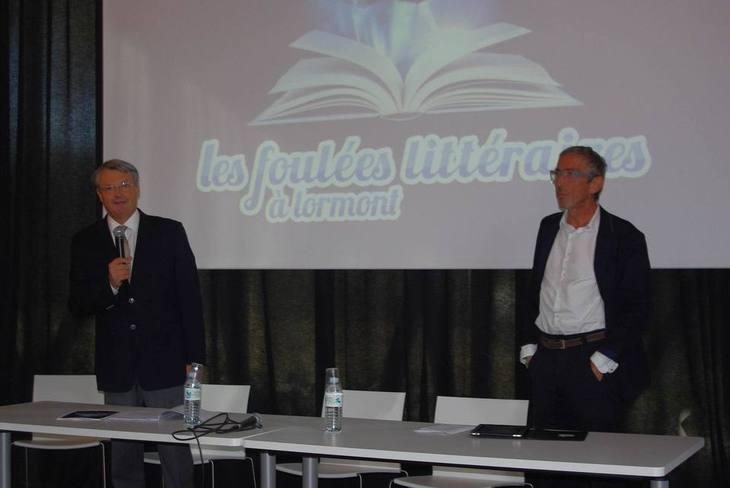 Jean Touzeau et  François Parrot (directeur des Foulées)-Ph Paysud