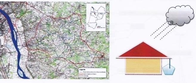 Localisation et principe du projet Pimpine