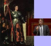 Jeanne d'Arc/ Serge Grouard (Ph. DR)