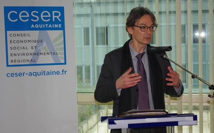 luc  Parboeuf, président du CESER Aquitaine (Ph Paysud)