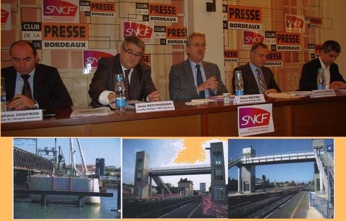 Les dirigeants de la SNCF-Quelques exemples de travaux (Ph DR)