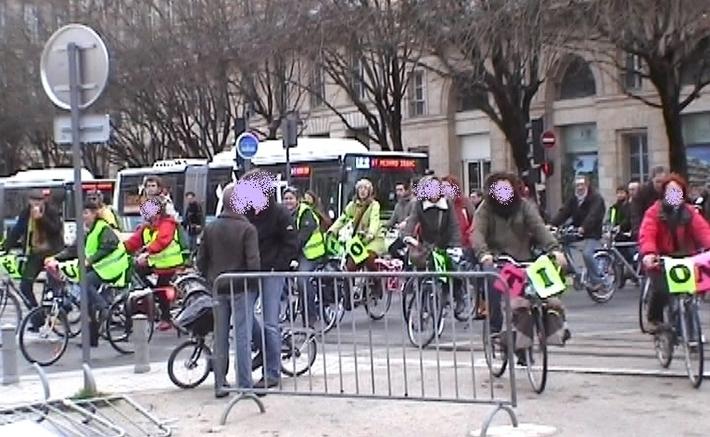 """Le vélo pour l""""ibérer l'énergie"""" à Bordeaux (Ph Paysud)"""