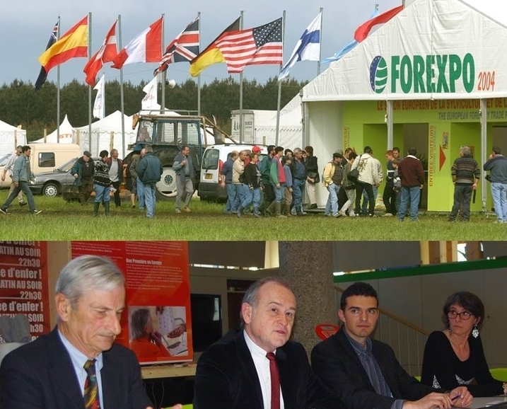 Un Forexpo (Ph Forexpo); présentation du Forexpo 2012 (Ph Paysud)