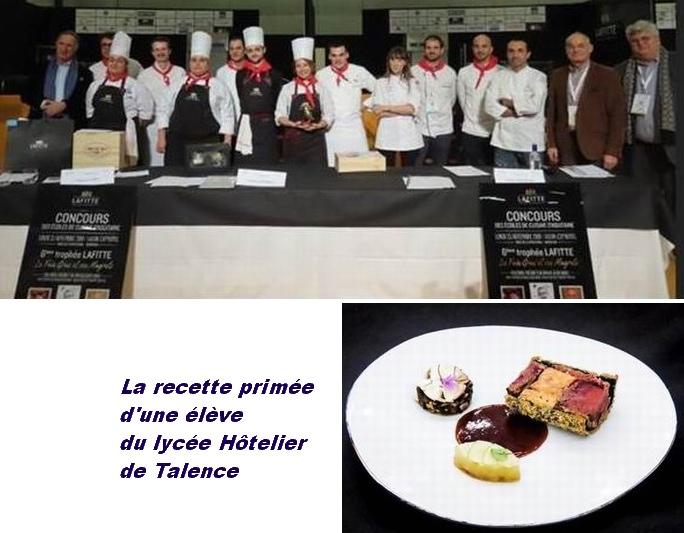 Exp'Hôtel:le Trophée Lafitte des écoles de cuisine