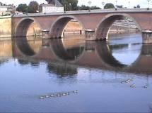 La Dordogne à Bergerac (Ph Paysud)