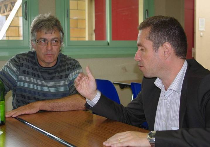 Patrick Vasseur et Jérôme Despey (Ph Paysud)